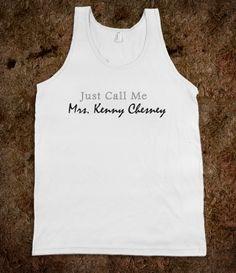 Mrs. Kenny Chesney