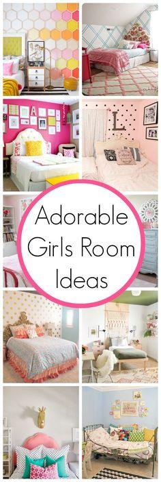 Super Cute Girls Room Ideas | www.classyclutter.net