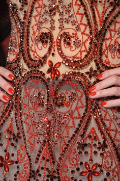 Jean Paul Gaultier Fall 2012 Couture Runway Details