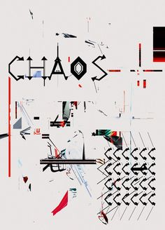 Chaos. Organized chaos.