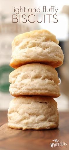 There's nothing like a tall, fluffy biscuit. See the White Lily difference with our recipe for Light & Fluffy Biscuits.