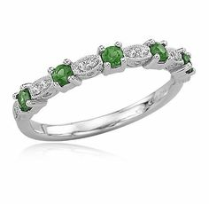 Would love a ring with emaralds...for my anniversary and Kinlee's birthday.