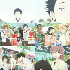 Movie: Koe no Katachi Kyoto Animation, Animation Film, A Silence Voice, The Art Of Listening, Japanese Animated Movies, Blue Springs Ride, Vocaloid, Spice And Wolf, Kimi No Na Wa