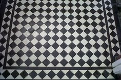 Recreate Victorian elegance and charm using these Victorian Black and White Quarry Tiles  for an eye-catching effect that immediately sets the ambiance in any room or outdoor space.These...