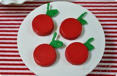 apple baby shower favors - Google Search