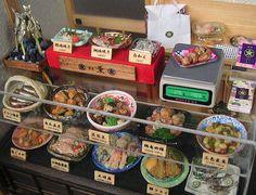 といといのミニチュア【和の惣菜屋さん2】