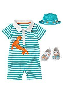 Little Lobster Boy Outfit for the beach!