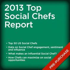 2013 Top Social Chefs Report Industry Research, Like Instagram, Social Platform, Chefs, Meet, Tops