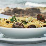 De perfecte spaghetti con le vongole uit het boek Fratello
