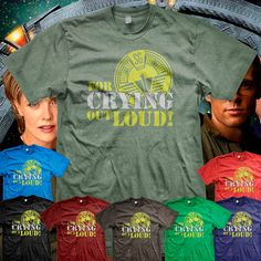 oh look, it's my ringtone on a shirt. I need me one of these ... Stargate SG1 O'Neill For Crying Out Loud by MetaCortexShirts