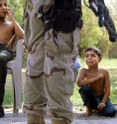 This is Iraq 2005. Only a frigid, Hellbound monster who is mentally unstable and immersed in cowardice would do this to little children. Images like these put Saddam in the shade.