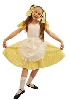 world book day girlswear fairytales goldilocks budget 02 costume all ages - Goldilocks Halloween Costumes