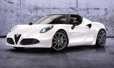 La nuova Alfa Romeo #4C #Spider. La supercar sportiva diventata simbolo del biscione.