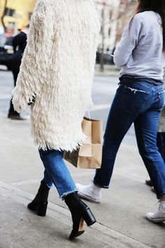 winter street style new york: from man repeller