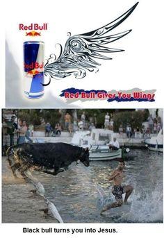 Red Bull, Black Bull
