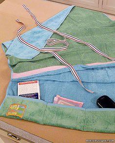 Beach-Towel Tote Bag - Martha Stewart Crafts