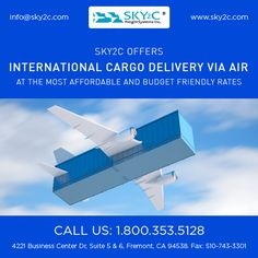 Excellent #Cargoservices Contact Sky2c Freight System for International Ocean Freight, Domestic Air Freight & Road Transportation.