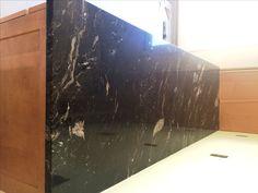 Granite countertops are in