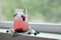 Blueberry Lavender Hard Lemonade