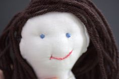 Quaint and Quirky: Rag Doll Tutorial - Part 3 - The Face