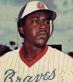 Atlanta Braves  Photo (1977) - Gary Matthews wearing the Atlanta Braves home uniform during the 1977 season