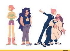 Steven universe,фэндомы,SU art,SU Персонажи,Pearl (SU),Greg Universe,kersenwiek