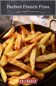 Perfection takes time. But we swear these French fries are well worth the wait. #fries #frenchfries #potatoes #comfortfood
