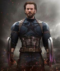 Steve in Infinity War