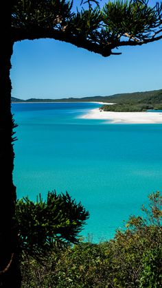 The idyllic Whitsunday Islands in Australia. 74 islands surrounded by the Great Barrier Reef.
