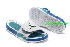 info for 7b9db 273d6 Nike Air Jordan Hydro 5 Mens Slides Sandals Premiere White Chlorine Blue  Black (There s the name)