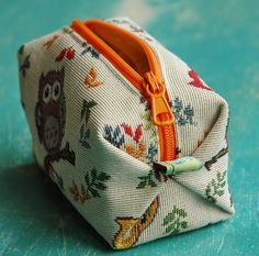 Das Gelbe Kaninchen: Kosmetiktasche (mit Anleitung)