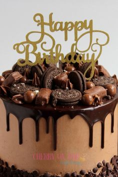 Browse through some of the Celebration Cakes we have made. Elegant Birthday Cakes, Beautiful Birthday Cakes, Happy Birthday Cakes, Birthday Cake For Him, Chocolate Birthday Cake Decoration, Birthday Cake Decorating, Happy Birthday Chocolate Cake, Cake Decorating Designs, Cake Decorating Videos