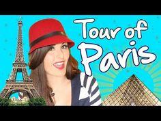 PARIS Tour: The Eiffel Tower, Fabulous Sidewalk Cafes & Subway Fun - AMaeTV