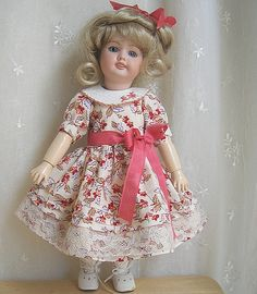 Bleuette Flower Dress