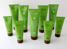 Kale Naturals Ultimate Essentials Set by Kale Naturals. $160.00. Natural, anti-oxidant formulas. Ultimate Essential Set for Home, Gym and Travel. Unparalleled Face, Hair and Body care. Fresh contemporary scents. $198 value. 3.4 oz. Bamboo Face Scrub + Cleanser (micro exfoliating, cleansing and hydrating) 3.4 oz. Foaming Face Wash 3.4 oz. Daily Face Lotion with Blue Agave (Fragrance-Free) 3.4 oz. and 8 oz. Sizes:  Smooth Shave Cream with Aloe and Gotu Kola (Oil-free/Silicone-Fre...