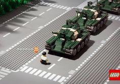 Anúncios LEGO: Criatividade que gera criatividade.
