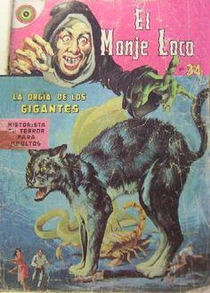 El Monje Loco - Mexican Horror Comic