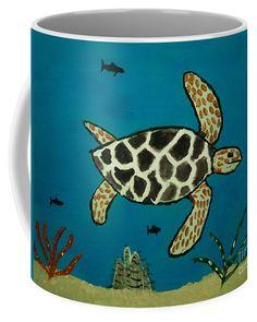 Under The Sea Coffee Mug by Scott Hervieux.  Small (11 oz.)