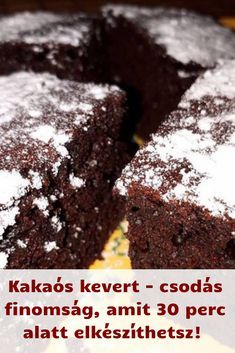 Other Recipes, Sweet Recipes, Cake Recipes, Dessert Recipes, Hungarian Recipes, Coffee Cake, No Cook Meals, No Bake Cake, Easy Desserts