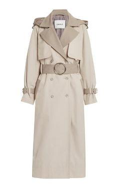 Sherlock Coat, Ladies Coat Design, Garment District, Classic Trench Coat, Tweed Coat, Ootd, Double Breasted Coat, Grey Pants, Coats For Women