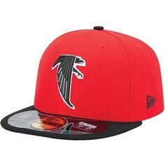 0b8b13c7d0b38 Men s New Era Atlanta Falcons On Field Classic 59FIFTY  Football Structured  Fitted Hat 7