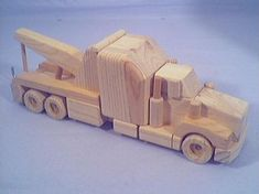 How To Make Wooden Truck And Trailer Plan | Woodworking Session