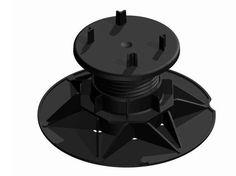 Sistema modulare per pavimento sopraelevato Supporti a martinetto - IMPERTEK