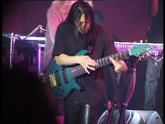 John Myung, bassist of Dream Theater. In my opinion, the best bass pĺayer nowadays.