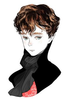 It's a young Sherlock. Your argument is invalid.