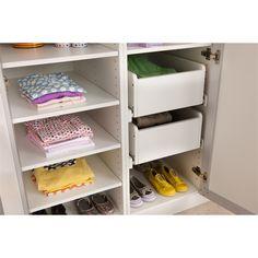 Flatpax 450mm Modern White Wardrobe Drawer I/N 2710125 | Bunnings Warehouse