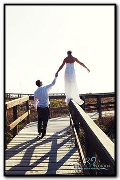 Playful Beach Wedding on St. Pete Beach Florida!
