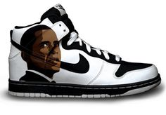 Obama Nike Dunks by Customs4you on Etsy