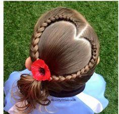 Peinado School Hairdos, Girls Hairdos, Cute Girls Hairstyles, Holiday Hairstyles, Girls Braids, Braided Hairstyles, Jasmine Hair, Front Hair Styles, Toddler Hair