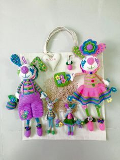 Thread Crochet, Amigurumi Doll, Christmas Ornaments, Country, Holiday Decor, Ideas, Home, Tricot, Rural Area